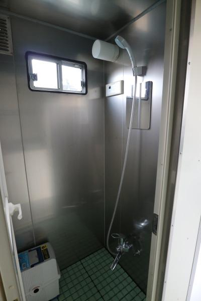 シャワー車両