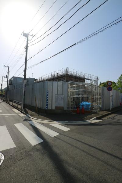 建設中の「川崎市動物愛護センター」