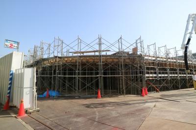 建設中の川崎市動物愛護センター