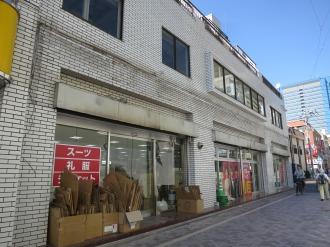 「百億兆」跡地の「AOKI武蔵小杉店」オープン予定地