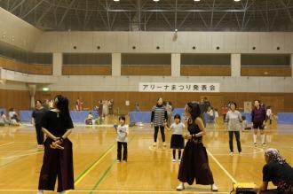 ダンスの体験