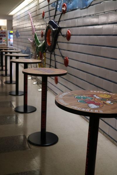 川崎ブレイブサンダースのテーブル