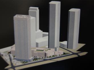 東京機械製作所玉川製造所再開発計画の景観図
