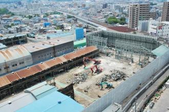 東京機械製作所玉川製造所第一工場(7月29日)