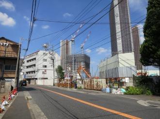 (仮称)ガーラ武蔵小杉の建設予定地
