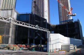 建設が進む「(仮称)アリオ武蔵小杉」