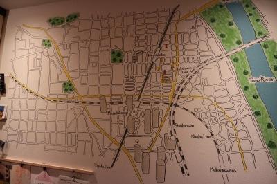 武蔵小杉・新丸子周辺のマップ