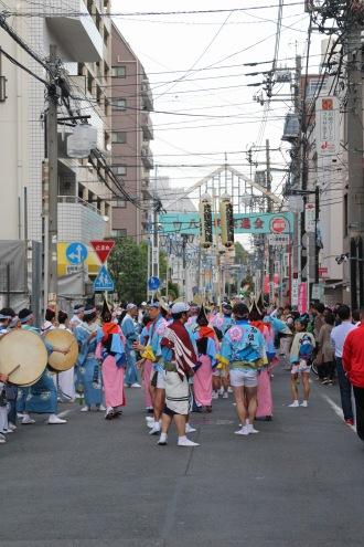 新丸子阿波踊り(八幡町共進会)