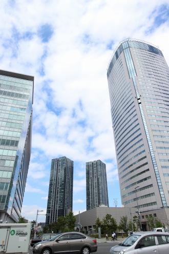 豊洲の高層ビル群