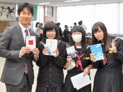 読書活動を推進する小松雄也さん