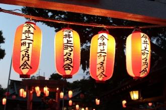 今井神社の盆踊り