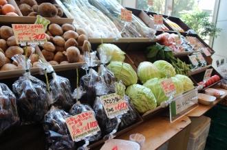 ライフフェスタでの野菜販売
