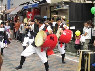 エイサー隊パレード(2010年)