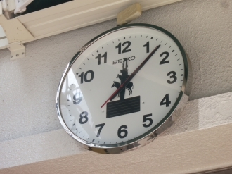 「ブレーメンの音楽隊」の時計