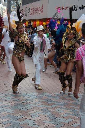 「オズフェスタ」のサンバパレード