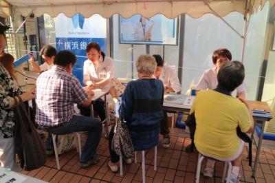 関東労災病院の血管年齢測定