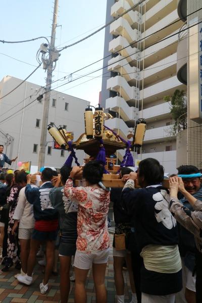 御神輿パレード