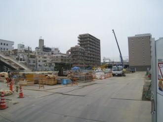 ブリリア武蔵小杉建設予定地のB地区