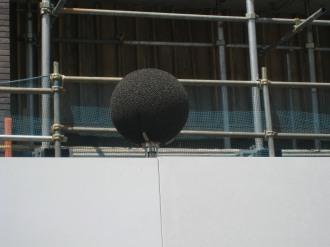 騒音測定器のマイク