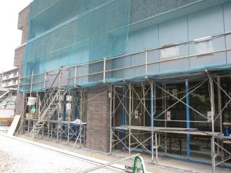 ブリリア武蔵小杉の1階店舗部分(南側)