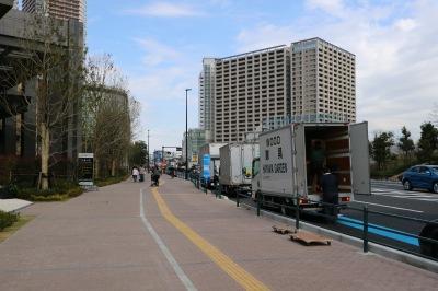 「小杉駅入口グランツリー前」バス停の設置予定場所