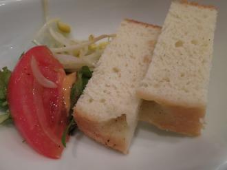 パンとサラダビュッフェ