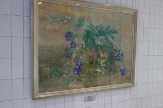 地元の画家の絵