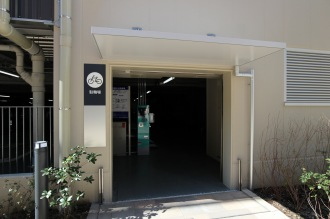セントア武蔵小杉の店舗用駐輪場