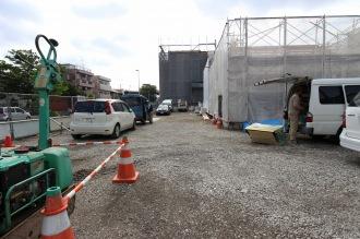 「すし銚子丸武蔵小杉店」の駐車場スペース