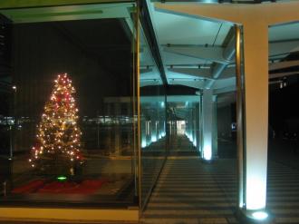 NEC玉川ルネッサンスシティのクリスマスツリー