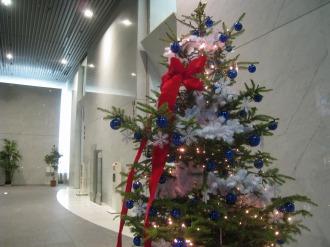 武蔵小杉タワープレイスのクリスマスツリー