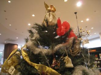 ラ・セゾン・デ・パンのクリスマスツリー