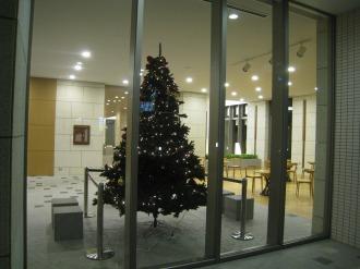 パークシティ武蔵小杉ステーションフォレストタワーのクリスマスツリー
