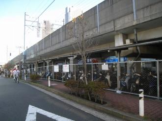 武蔵小杉第一駐輪場(一時利用)