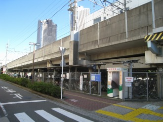 武蔵小杉第二駐輪場(定期利用)