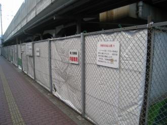 南武線高架下の武蔵小杉第二駐輪場
