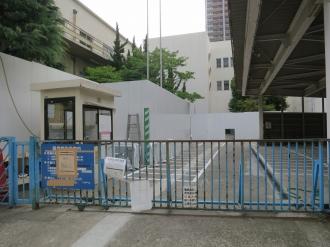 旧中原図書館の「武蔵小杉駅周辺自転車等駐車場第6施設」