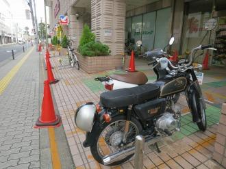 イトーヨーカドー武蔵小杉店バイク駐車場