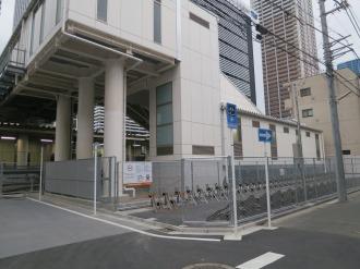「JR武蔵小杉駅北口駐輪場」