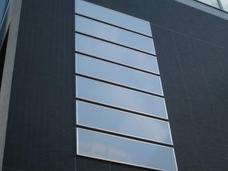 テナントスペース壁面のパネル