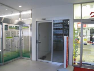 調剤薬局の入口