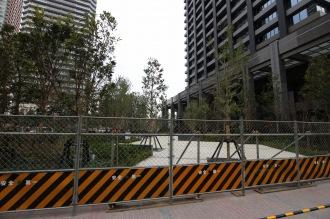 シティタワー武蔵小杉周辺の公開空地