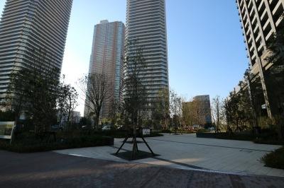 公開空地の広場