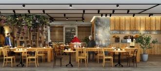 「COSUGI CAFE」のイメージパース