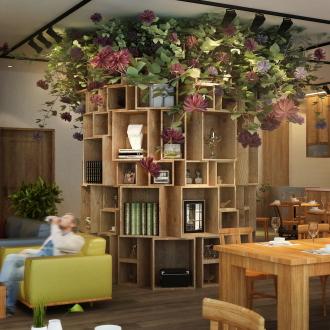 「COSUGI CAFE」の本棚