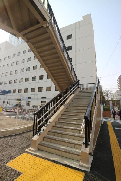 エルシィ跡地への階段