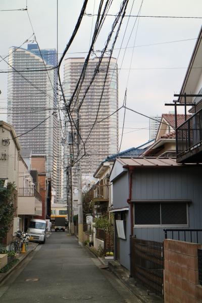 COYAMAオープン予定地とパークシティ武蔵小杉