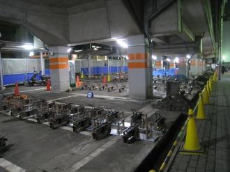 武蔵小杉第一駐輪場リニューアル工事