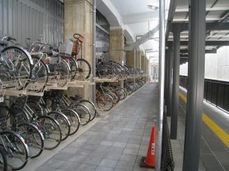 JR武蔵小杉駅自転車第4駐車場