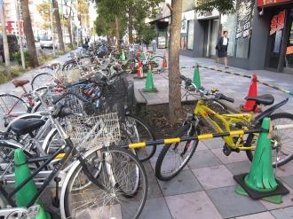 違法駐輪の現状
